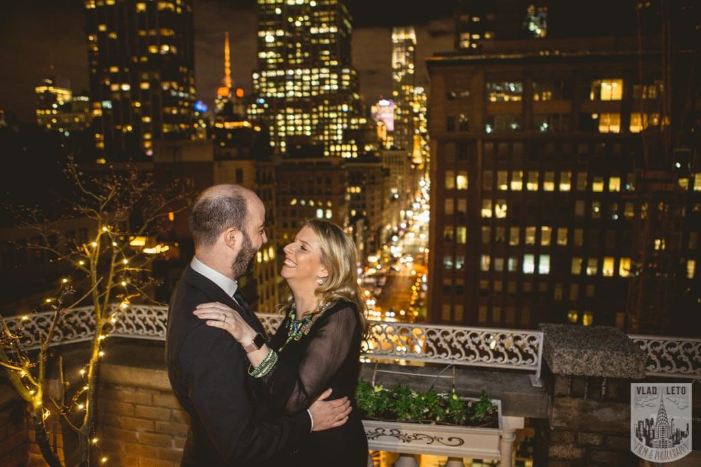 Photo 13 Private Rooftop Proposal with Empire State Building view. | VladLeto