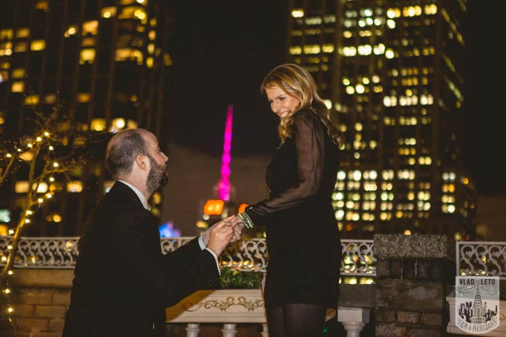 Photo 2 Private Rooftop Proposal with Empire State Building view. | VladLeto