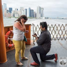 Photo Staten Island Ferry Marriage Proposal | VladLeto