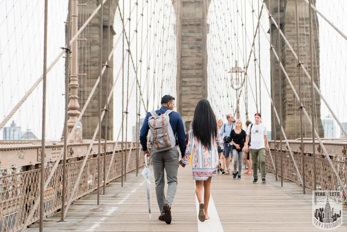 Photo 3 Brooklyn Bridge Picnic Proposal | VladLeto