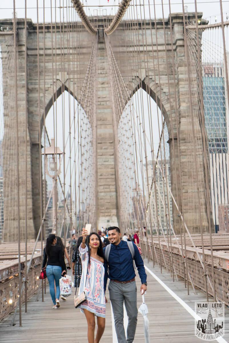 Photo 4 Brooklyn Bridge Picnic Proposal | VladLeto