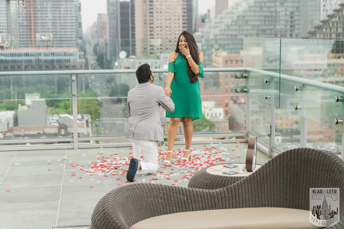 Photo 4 Rooftop Marriage Proposal   VladLeto