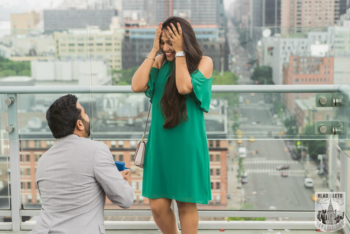 Photo 2 Rooftop Marriage Proposal 2 | VladLeto