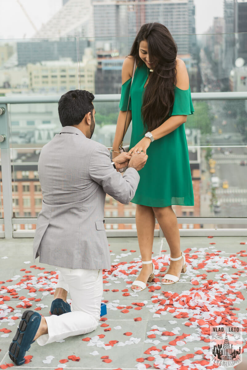 Photo 2 Rooftop Marriage Proposal   VladLeto