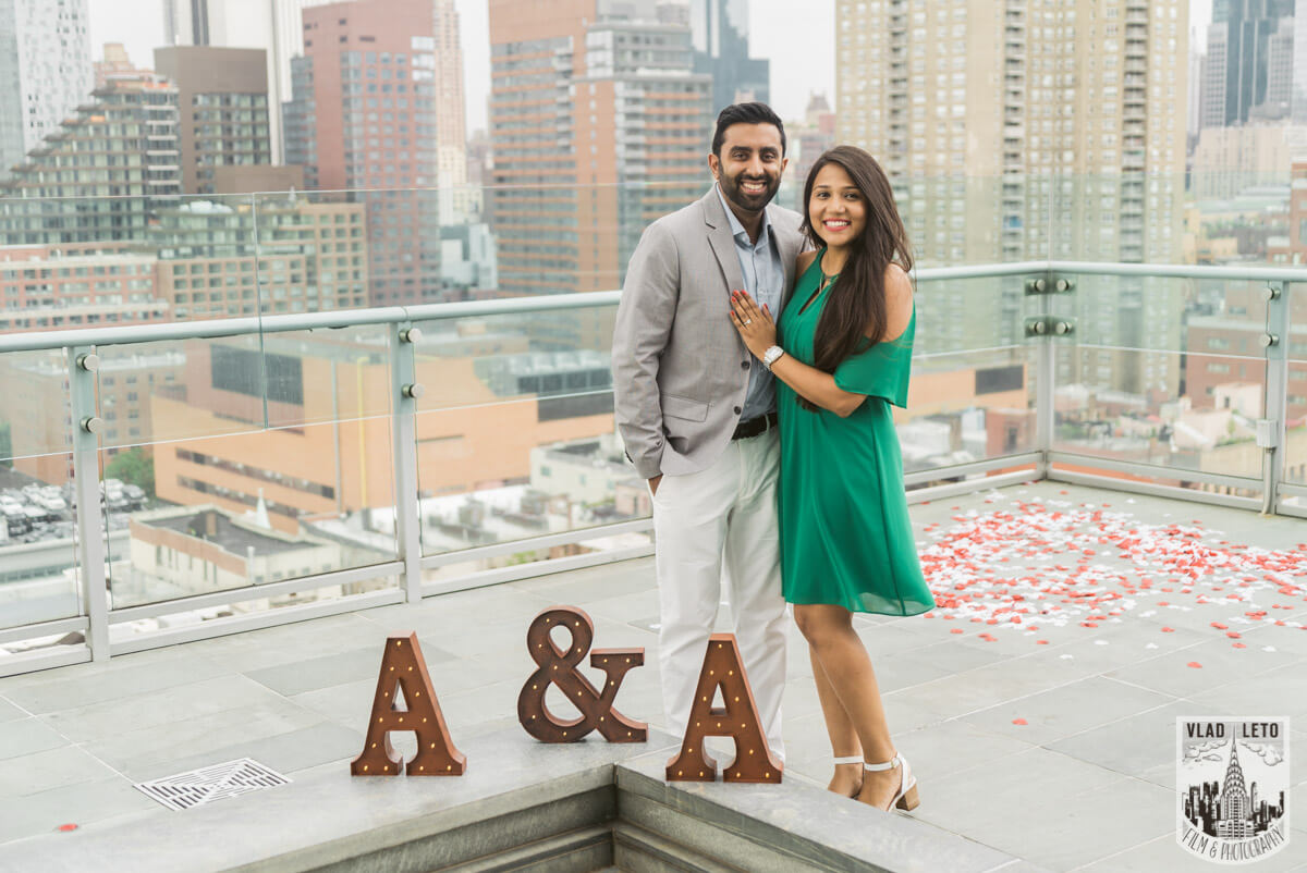 Photo 8 Rooftop Marriage Proposal 2 | VladLeto