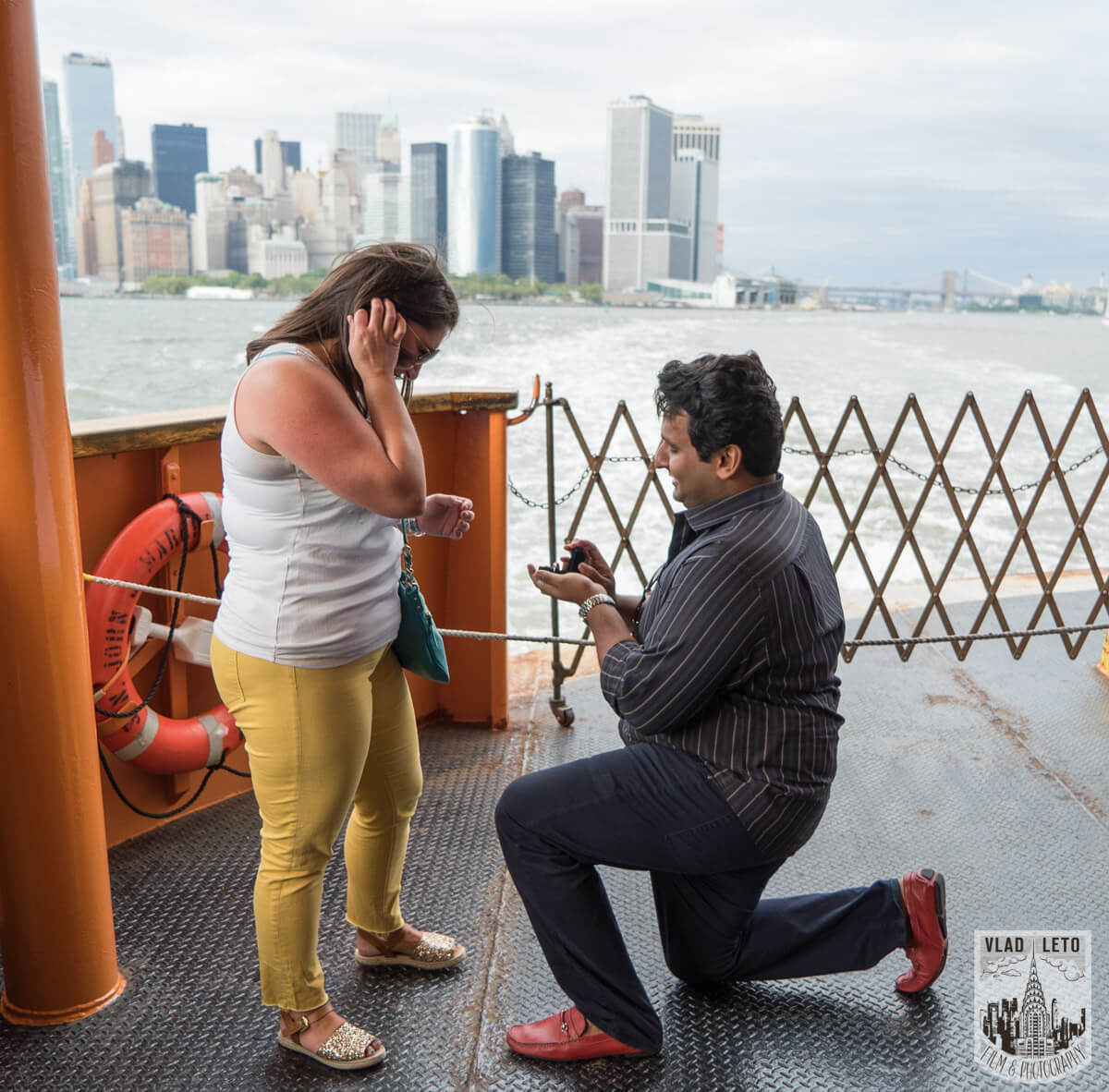 Photo Staten Island Ferry Marriage Proposal | VladLeto