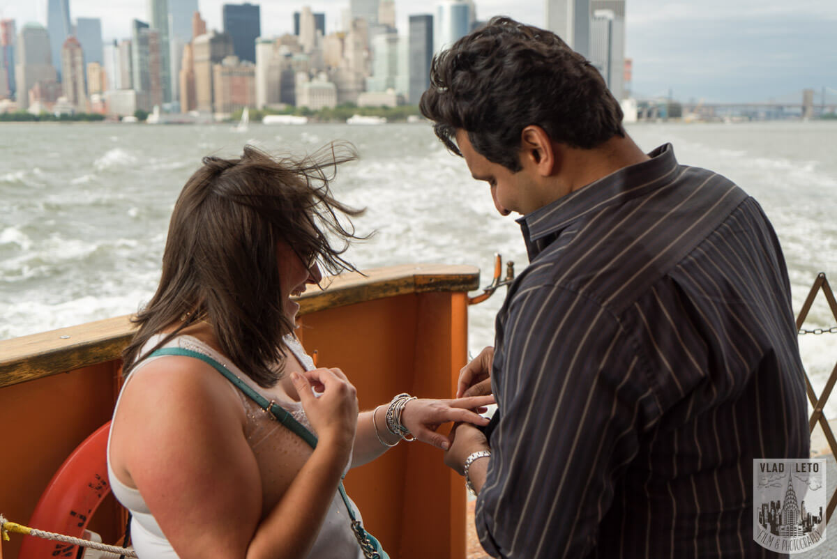 Photo 4 Staten Island Ferry Marriage Proposal | VladLeto