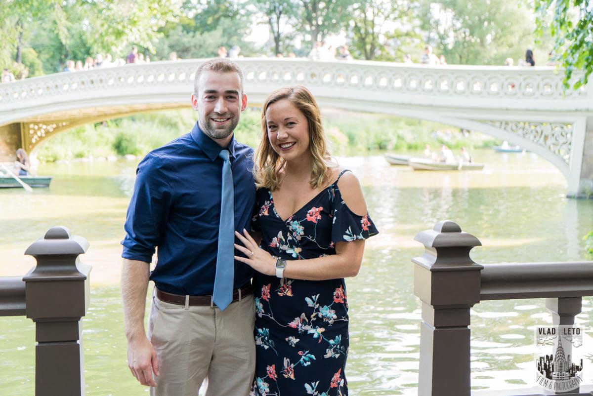 Photo 5 Ben and Kristen Surprise proposal by Bow bridge | VladLeto