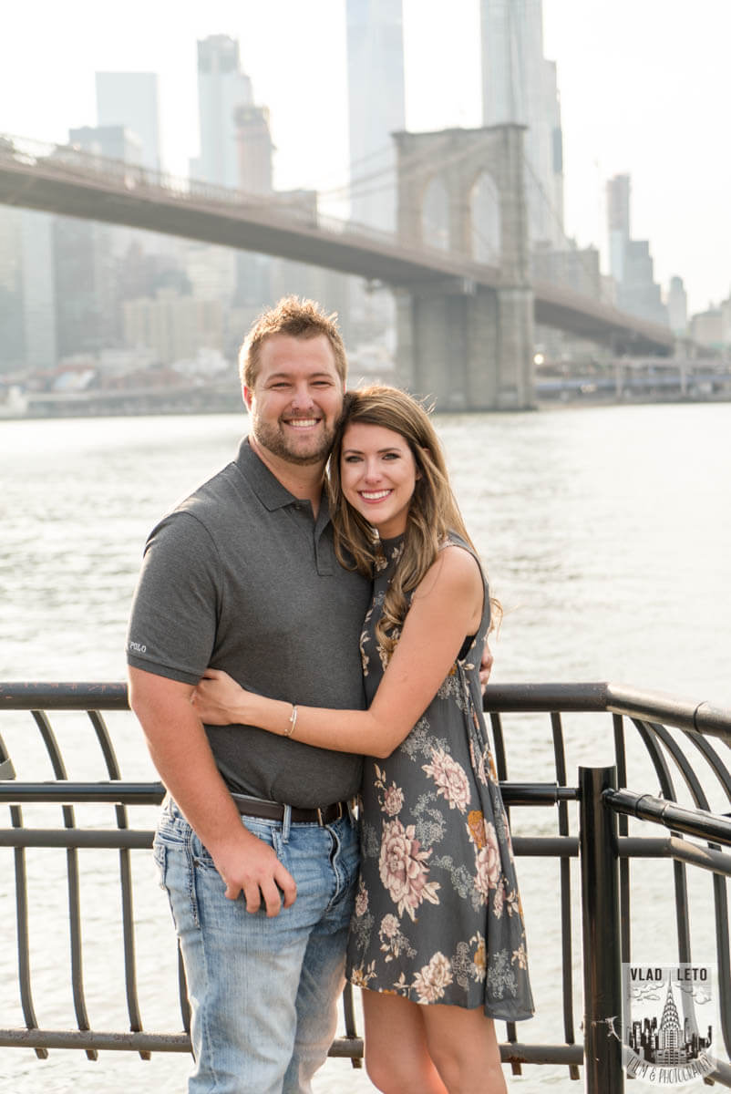 Photo 5 Brooklyn Bridge proposal and Engagement shooting in Central Park. | VladLeto