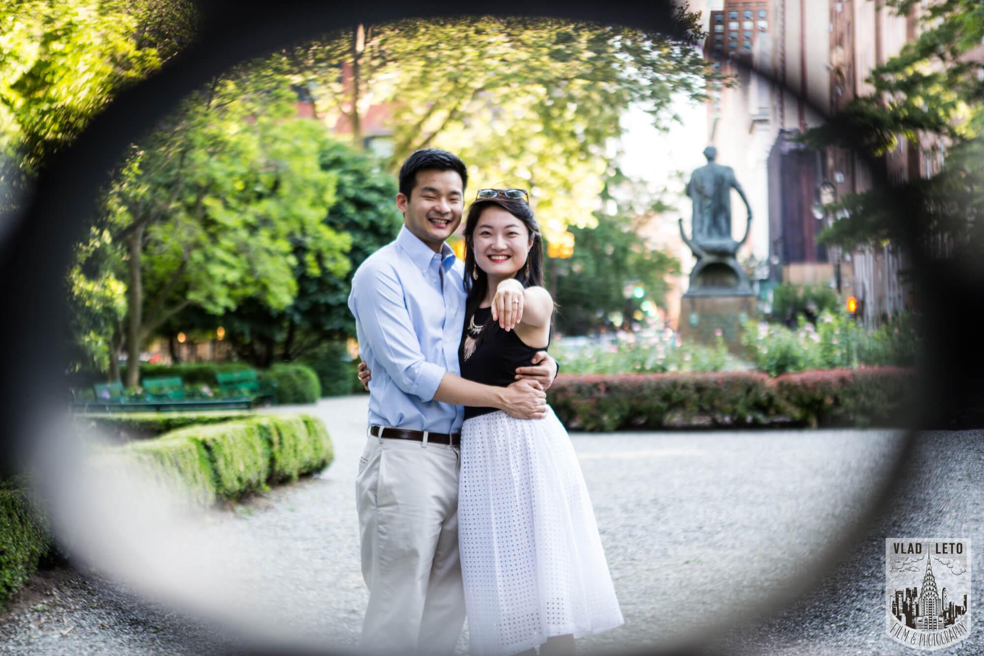 Photo 5 Gramercy Park Marriage Proposal   VladLeto