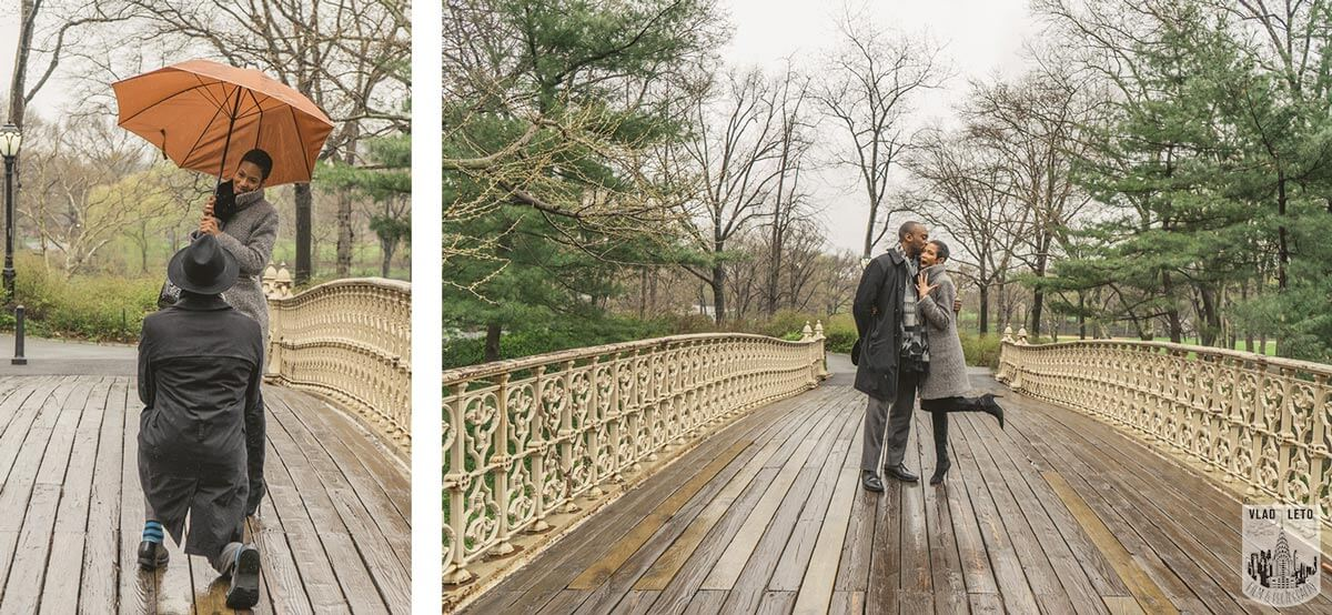 Best Places to propose in Central Park - Pinebank Arch