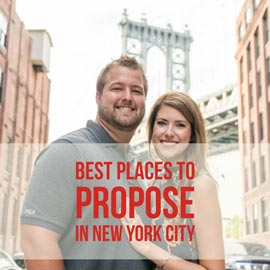 where propose in NYC?