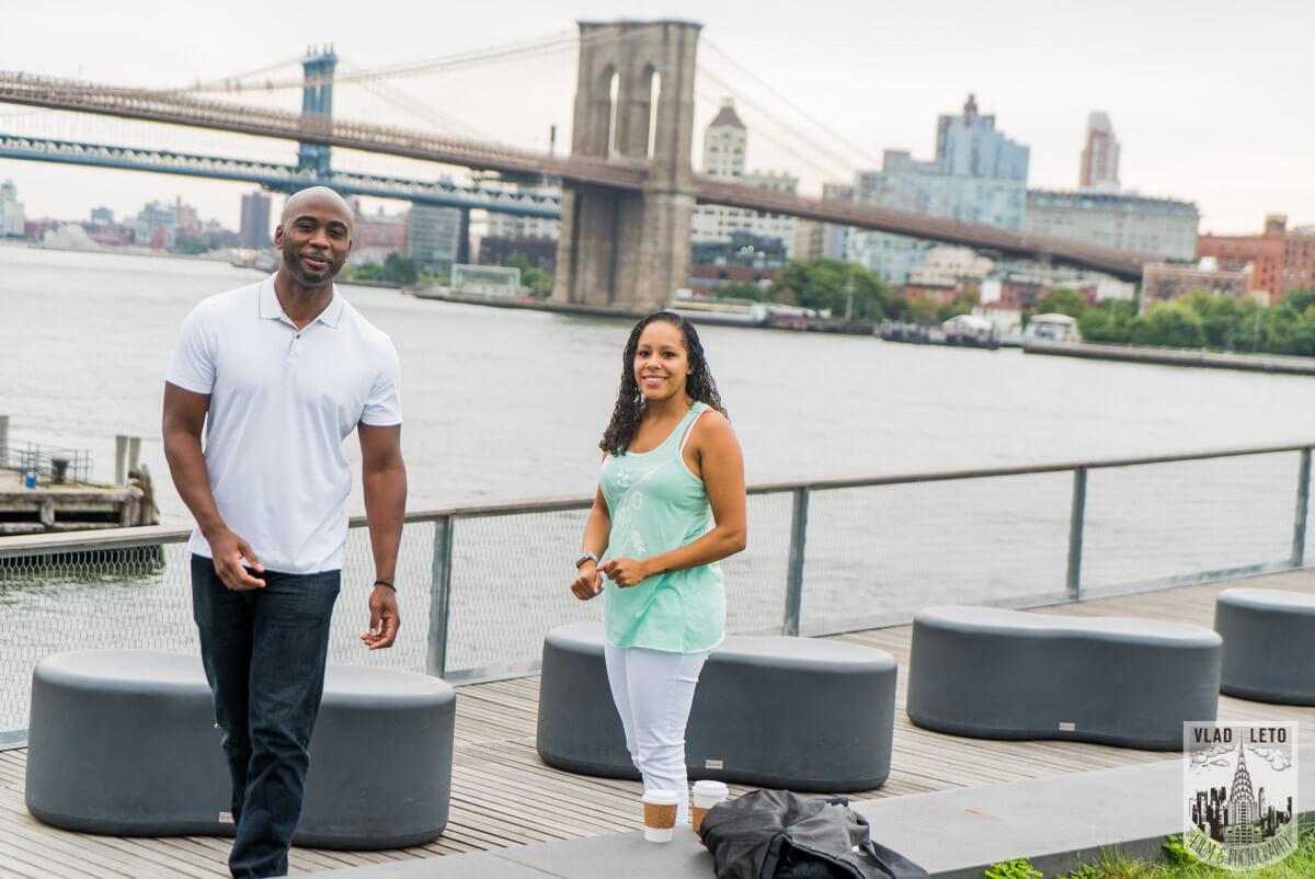 Photo 4 Brooklyn Bridge view Wedding Proposal. | VladLeto