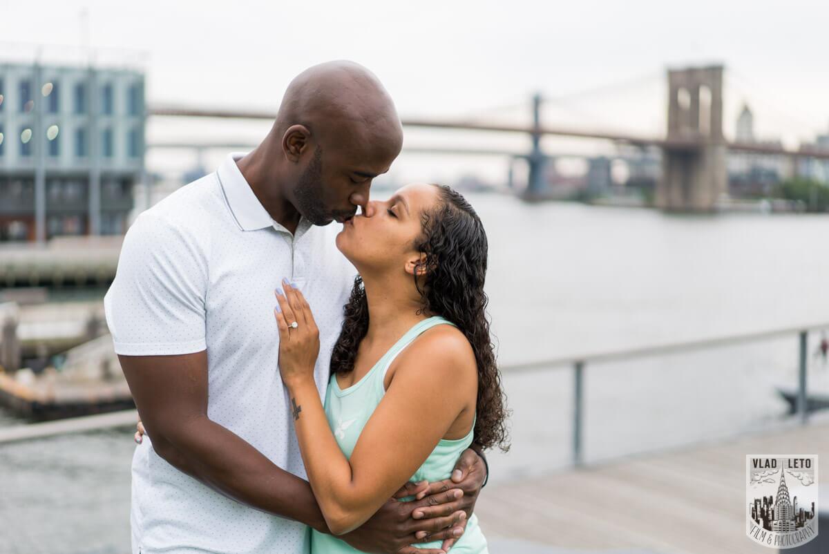 Photo 19 Brooklyn Bridge view Wedding Proposal. | VladLeto