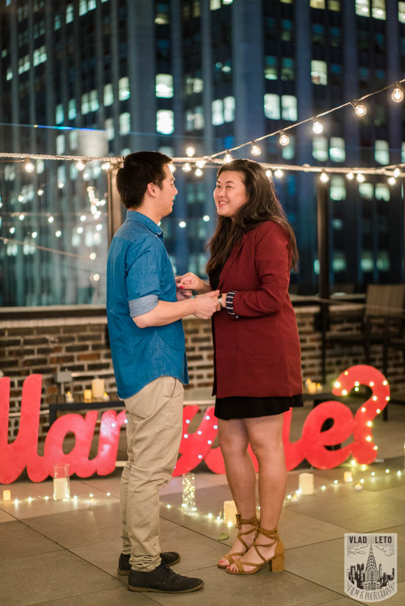 Photo 8 Rooftop Proposal with Empire State building view | VladLeto