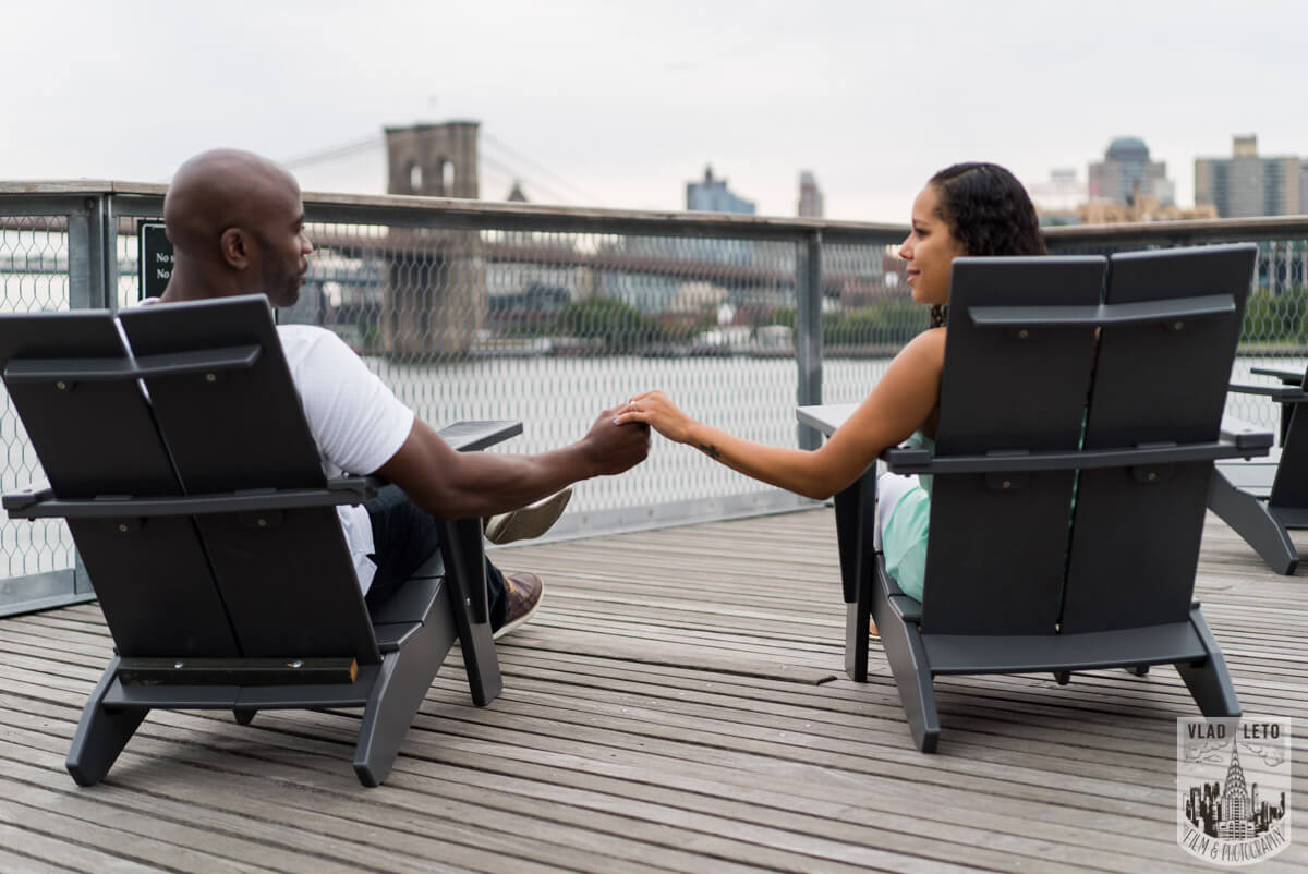 Photo 9 Brooklyn Bridge view Wedding Proposal. | VladLeto