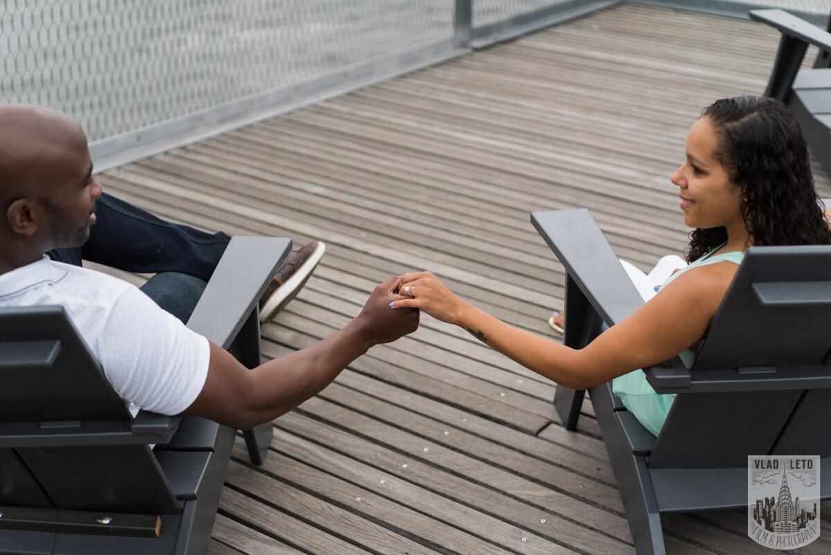 Photo 17 Brooklyn Bridge view Wedding Proposal. | VladLeto