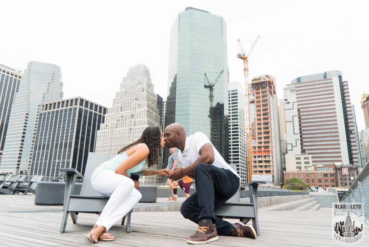 Photo 5 Brooklyn Bridge view Wedding Proposal. | VladLeto
