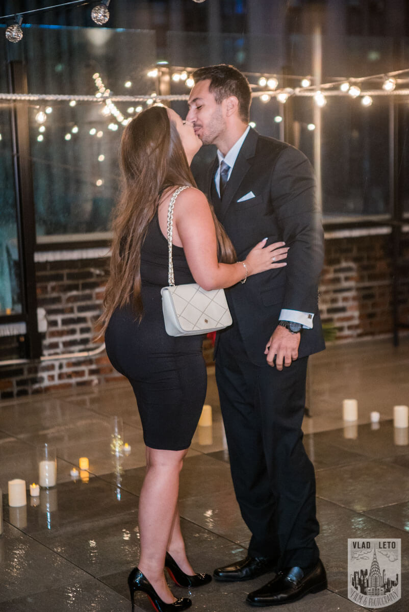 Photo 4 Rooftop Proposal with Empire State Building view | VladLeto