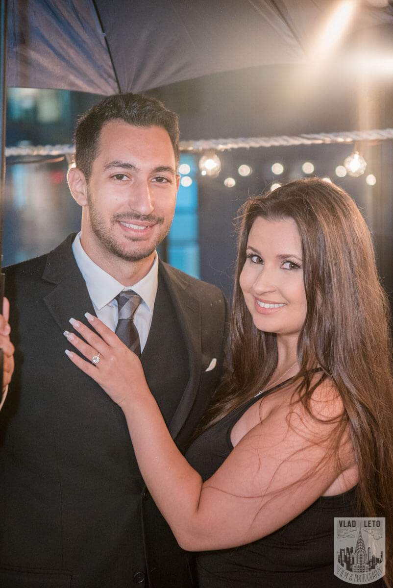 Photo 12 Rooftop Proposal with Empire State Building view | VladLeto
