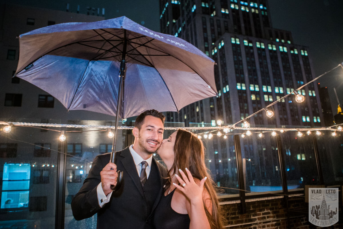 Photo 14 Rooftop Proposal with Empire State Building view | VladLeto