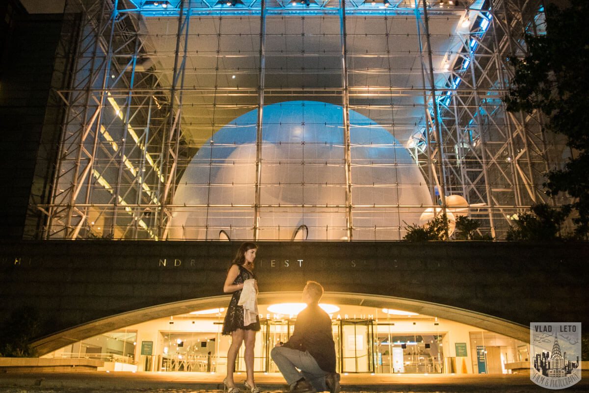 Photo Marriage proposal by Planetarium NYC | VladLeto