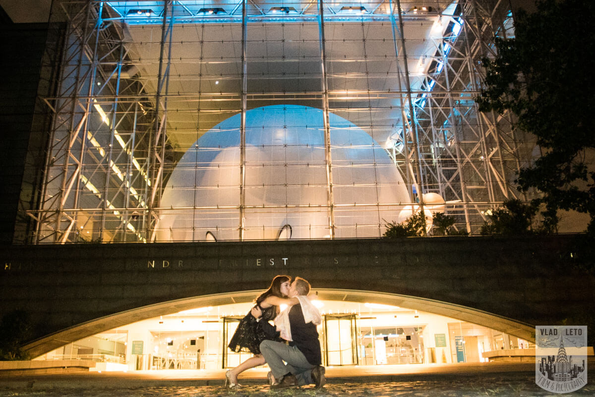 Photo 3 Marriage proposal by Planetarium NYC | VladLeto