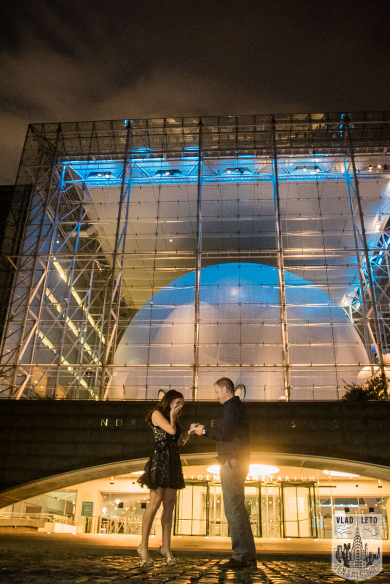 Photo 4 Marriage proposal by Planetarium NYC | VladLeto