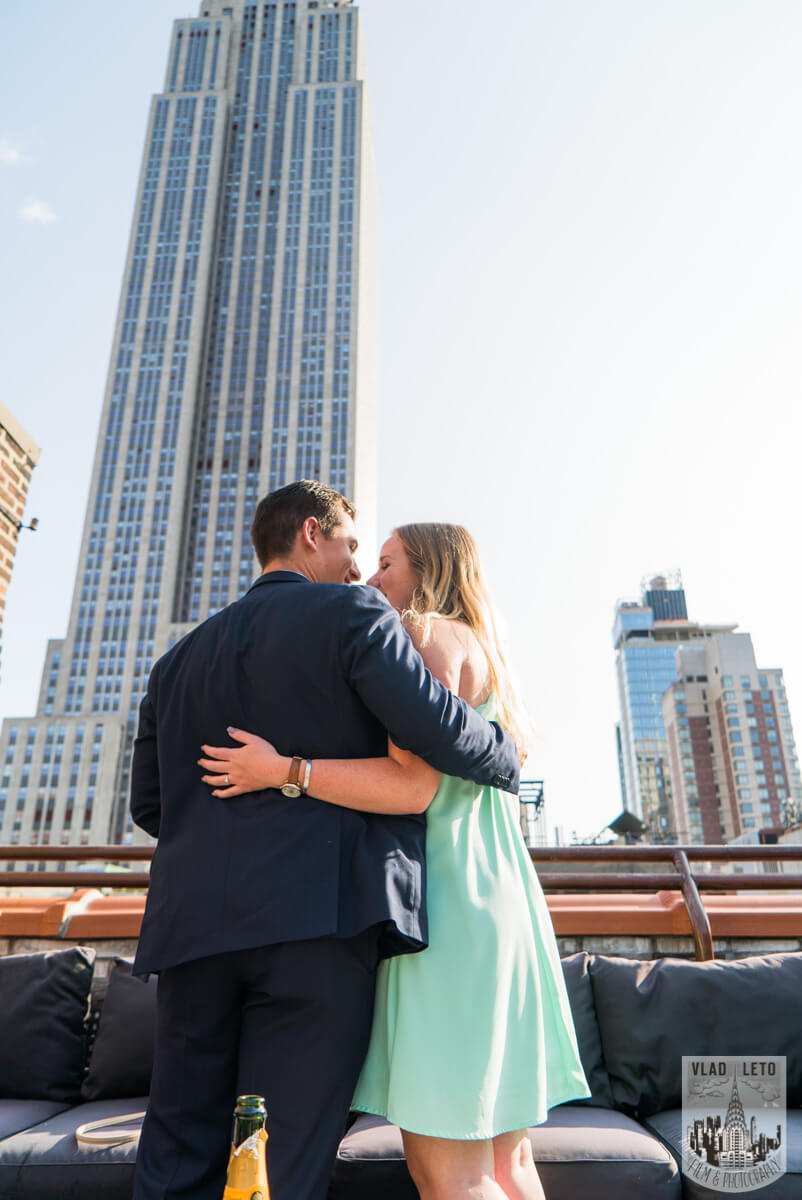 Photo 7 Empire State building view Marriage proposal.   VladLeto