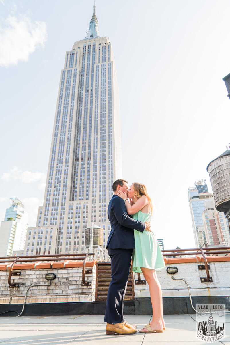 Photo 5 Empire State building view Marriage proposal. | VladLeto