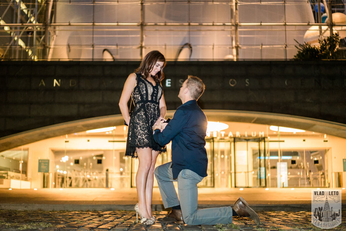 Photo 7 Marriage proposal by Planetarium NYC | VladLeto