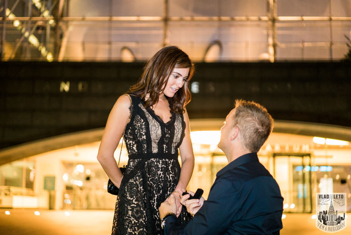 Photo 9 Marriage proposal by Planetarium NYC | VladLeto