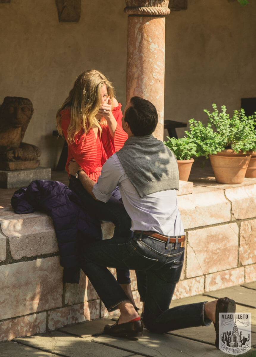Photo The Cloisters Surprise Proposal | VladLeto