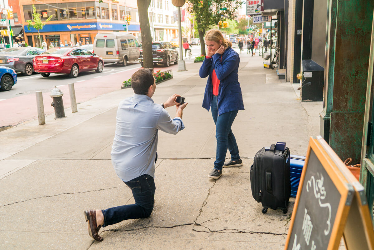 Photo 2 Flat Iron Surprise Proposal | VladLeto