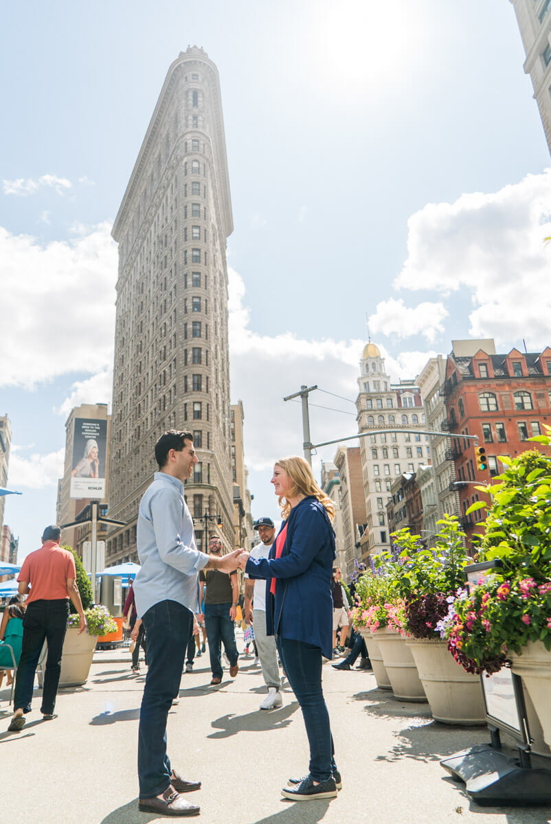 Photo 10 Flat Iron Surprise Proposal | VladLeto