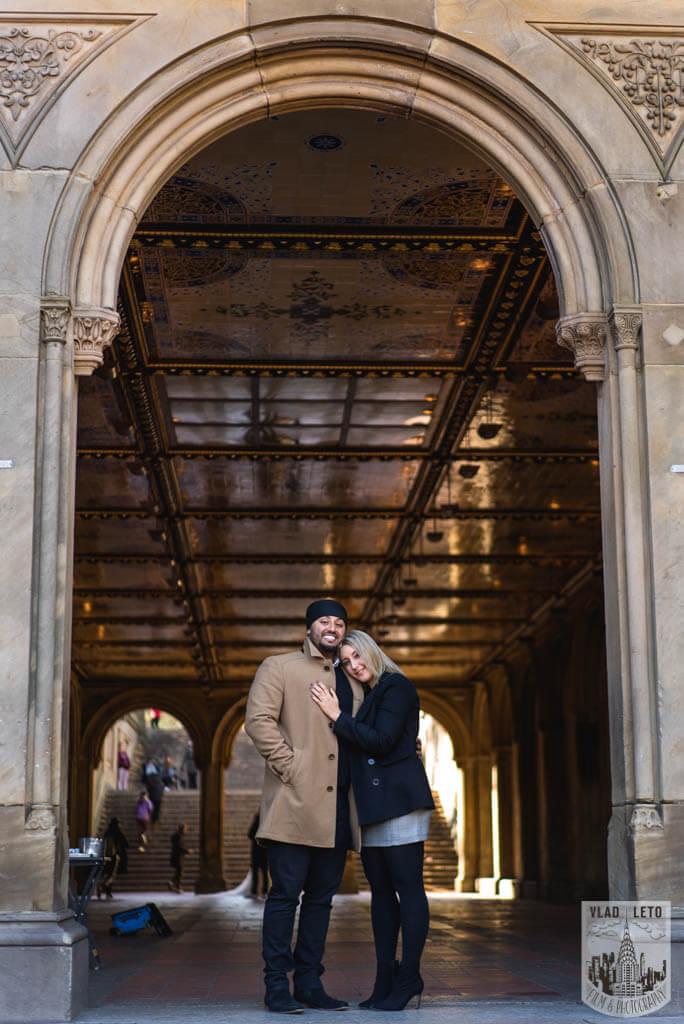 Photo 3 Bow Bridge Marriage proposal   VladLeto