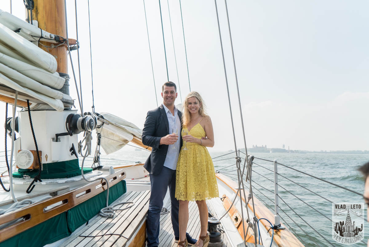Photo 4 Private boat Marriage Proposal | VladLeto