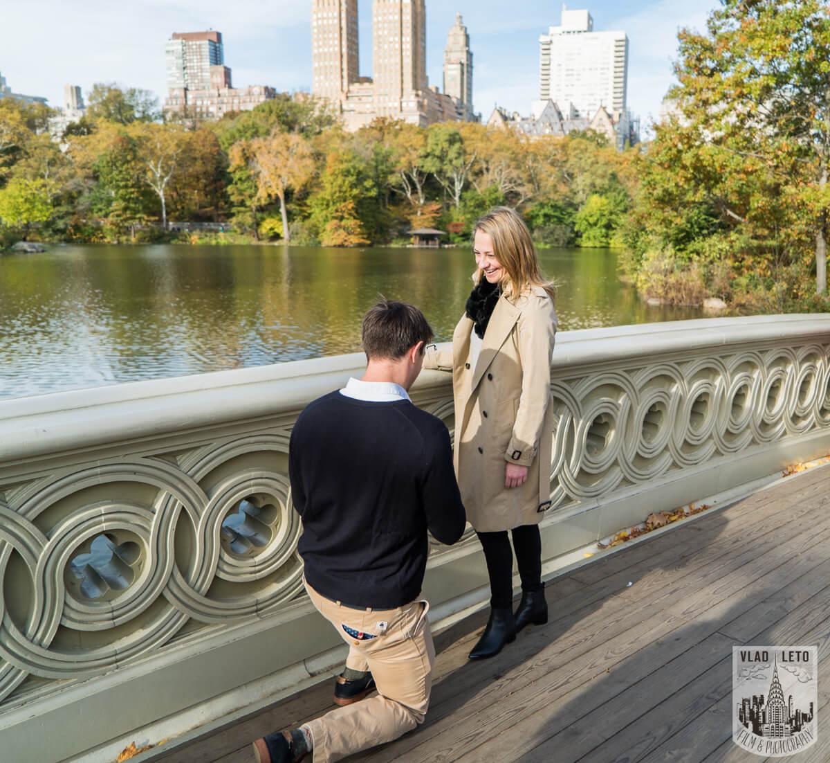 Photo 2 Bow Bridge Marriage proposal 4 | VladLeto