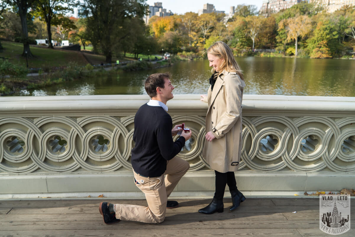 Photo Bow Bridge Marriage proposal 4 | VladLeto
