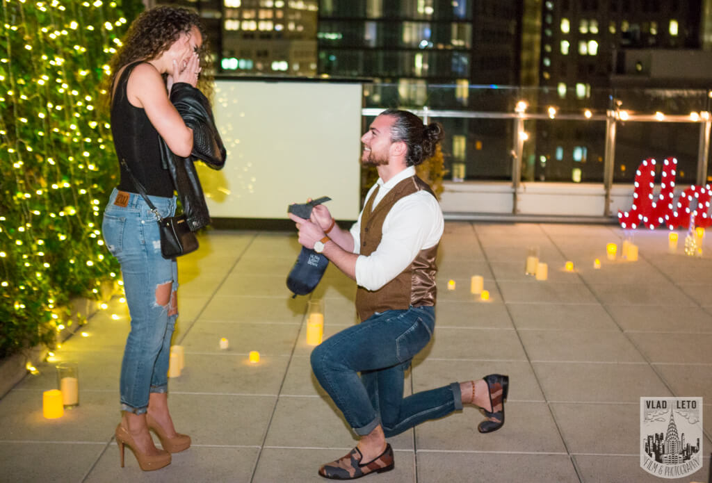 Photo Private Rooftop Marriage Proposal | VladLeto