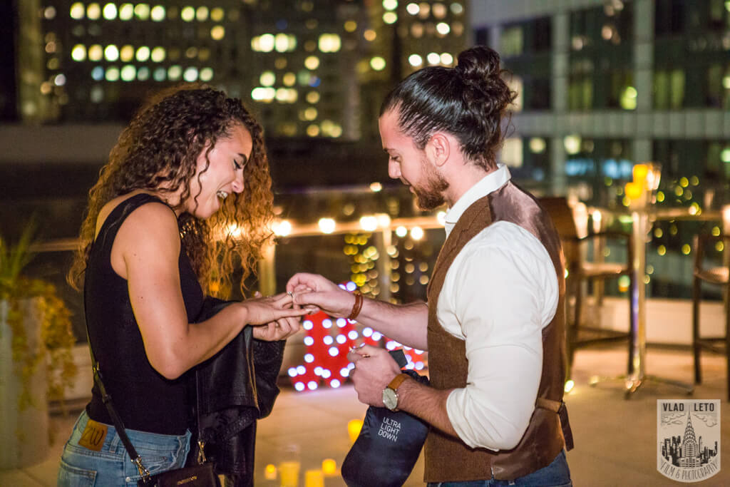 Photo 7 Private Rooftop Marriage Proposal | VladLeto
