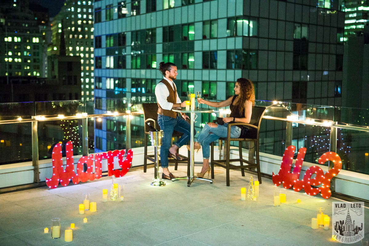 Photo 6 Private Rooftop Marriage Proposal | VladLeto