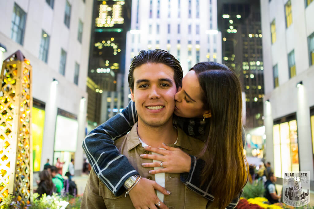Photo 13 Engagement on Ice. Rockefeller Center Ice Skating Rink. | VladLeto