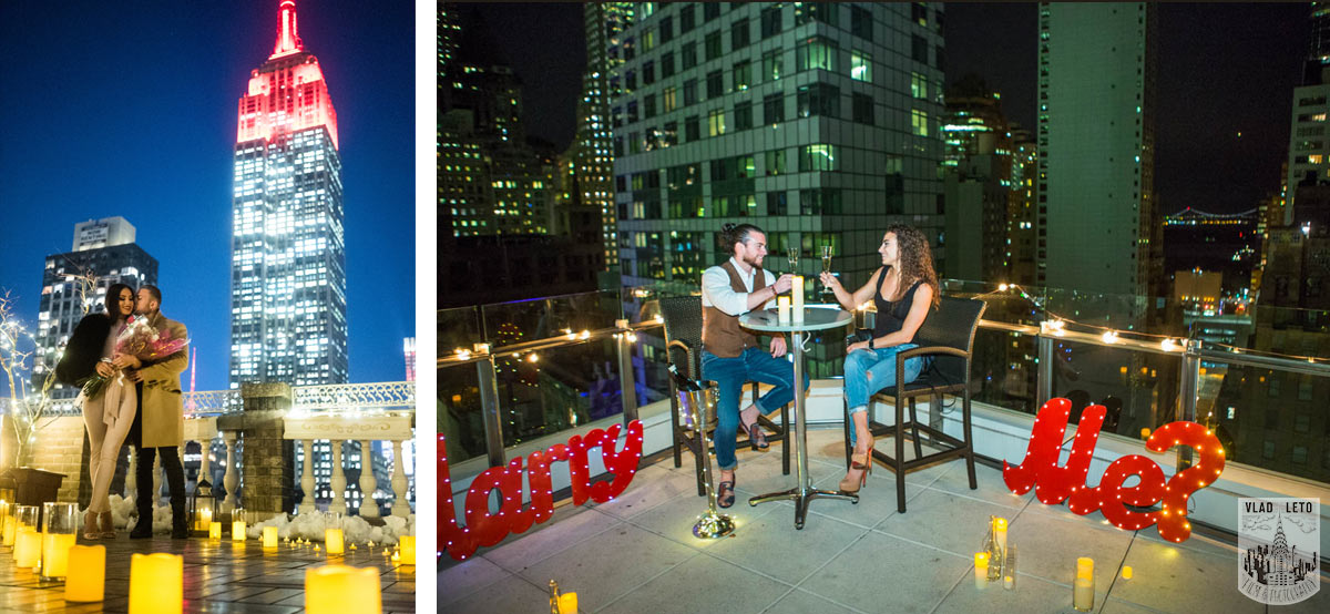 Photo 5 Best Holiday Proposal Ideas in NYC | VladLeto