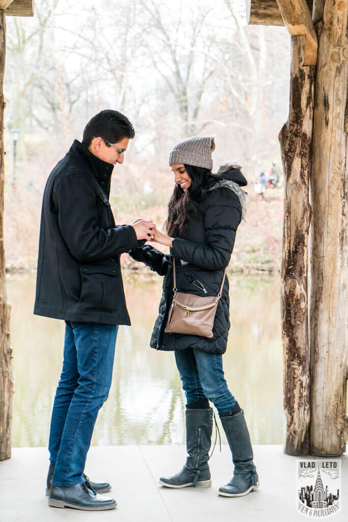 Photo 3 Wagner Cove Surprise Proposal in Central Park | VladLeto