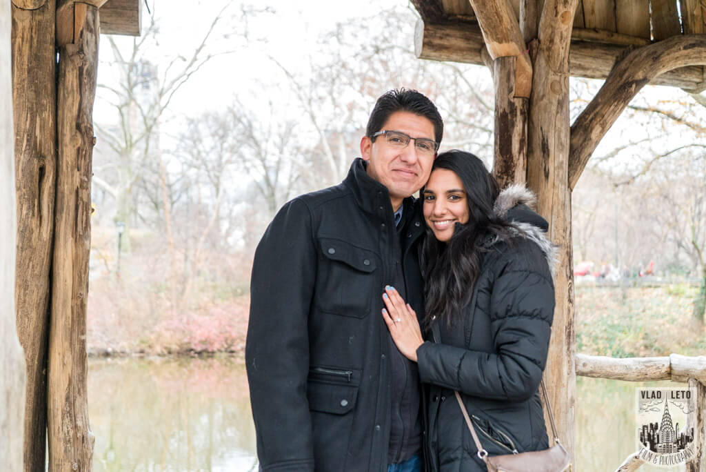 Photo 7 Wagner Cove Surprise Proposal in Central Park | VladLeto