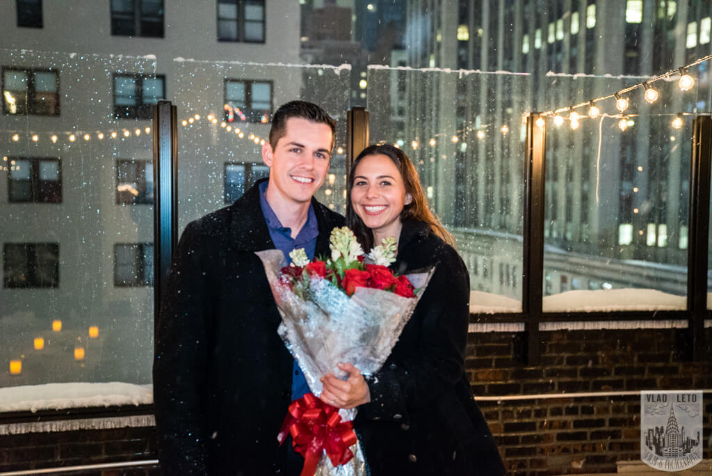 Photo 3 Surprise proposal on Private Rooftop with Empire State Building.   VladLeto