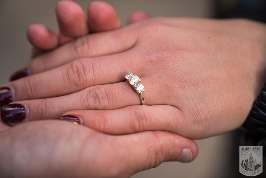 Photo 10 Ice Skating Marriage Proposal at The Rink at Rockefeller Center | VladLeto