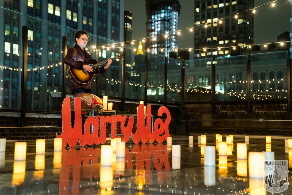 Photo 2 Rooftop Proposal with Empire State view | VladLeto