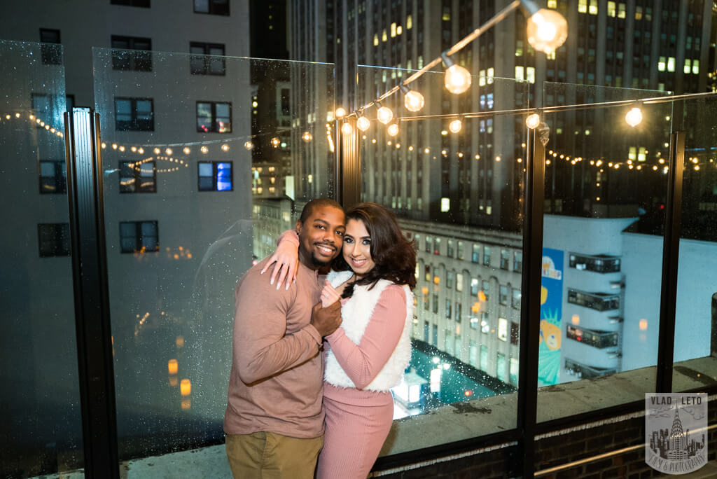 Photo 9 Rooftop Proposal with Empire State view | VladLeto